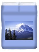Mountain Landscape Duvet Cover by Elena Elisseeva