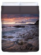 Mullaghmore Head, Co Sligo, Ireland Duvet Cover by Gareth McCormack