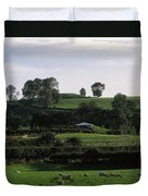 Navan Fort, Co. Armagh, Ireland Duvet Cover by The Irish Image Collection