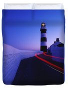 Old Head Of Kinsale, Kinsale, County Duvet Cover by Richard Cummins