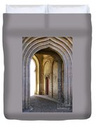 Palace Arch Duvet Cover by Carlos Caetano