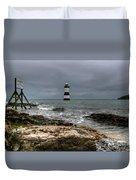 Penmon Point Duvet Cover by Adrian Evans