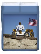 Robonaut 2 Poses Atop Its New Wheeled Duvet Cover by Stocktrek Images