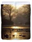 Saint Stephens Green, Dublin, Co Duvet Cover by The Irish Image Collection