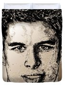 Sidney Crosby In 2007 Duvet Cover by J McCombie