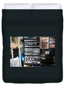 Signs Of New York Duvet Cover by Rob Hans