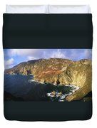 Slieve League, Co Donegal, Ireland Duvet Cover by The Irish Image Collection