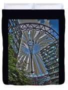 Sony Center - Berlin Duvet Cover by Juergen Weiss