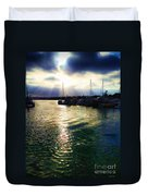 Stormy Skies Duvet Cover by Cheryl Young
