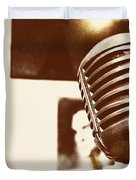 THE ELVIS MIC Duvet Cover by JAMART Photography