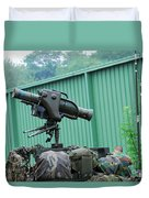 The Milan, Guided Anti-tank Missile Duvet Cover by Luc De Jaeger