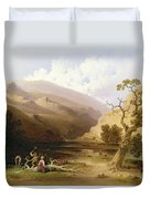 The Pioneers Duvet Cover by Joshua Shaw