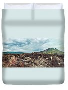 Volcano Batur Duvet Cover by MotHaiBaPhoto Prints