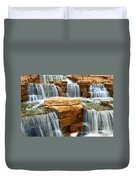 Waterfall Duvet Cover by Elena Elisseeva