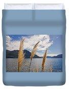 Lake Maggiore Duvet Cover by Joana Kruse