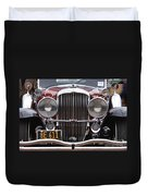 1933 Duesenberg Model J - D008167 Duvet Cover by Daniel Dempster