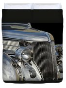 1936 Ford - Stainless Steel Body Duvet Cover by Jill Reger