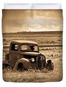 1938 Ford Pickup Duvet Cover by Steve McKinzie