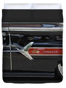 1960 Chevy Impala Duvet Cover by Mike McGlothlen