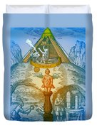 Alchemy Duvet Cover by Science Source