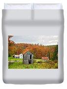 Autumn Farm Duvet Cover by Steve Harrington