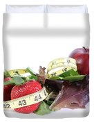 Healthy Diet Duvet Cover by Photo Researchers, Inc.