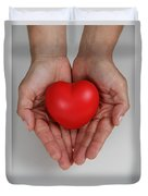 Heart Disease Prevention Duvet Cover by Photo Researchers, Inc.