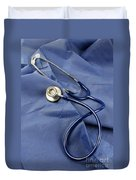 Stethoscope Duvet Cover by Photo Researchers, Inc.