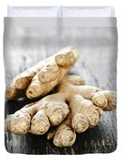 Ginger Root Duvet Cover by Elena Elisseeva