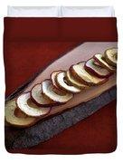 Apple Chips Duvet Cover by Joana Kruse