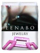 My Art Jewelry Duvet Cover by Eena Bo