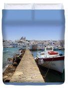 Paros - Cyclades - Greece Duvet Cover by Joana Kruse