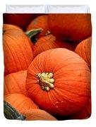 Pumpkins Duvet Cover by Elena Elisseeva