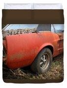 68 Stang Duvet Cover by Steve McKinzie