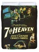 7th Heaven Duvet Cover by Georgia Fowler