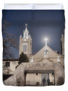 A Blessed Couple Duvet Cover by Donna Van Vlack