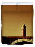 A Bridge Of Two Cities Duvet Cover by Dana DiPasquale