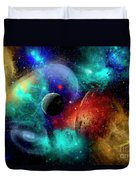 A Colorful Part Of Our Galaxy Duvet Cover by Mark Stevenson