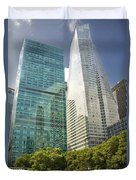 A Day In The Park Duvet Cover by Donovan Conway