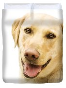 A Golden Labrador Duvet Cover by Chris Knorr
