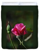 A Knockout Rose Duvet Cover by Skip Willits