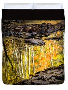 A Moment Of Reflection Duvet Cover by Mary Amerman