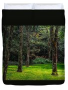 A Place To Unwind Duvet Cover by Scott Hervieux