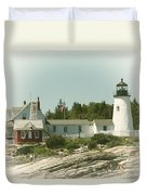 A View From The Water Duvet Cover by Karol Livote
