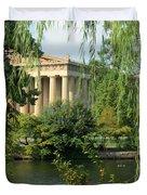 A View of the Parthenon 1 Duvet Cover by Douglas Barnett