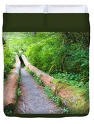 A Well Marked Path Duvet Cover by Heidi Smith