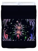 Abstract 014 Duvet Cover by Maria Urso