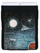 Across The Universe Duvet Cover by Graciela Bello