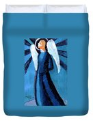 Adrongenous Angel Duvet Cover by Genevieve Esson
