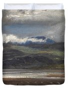 After Rain Duvet Cover by Henry Moore